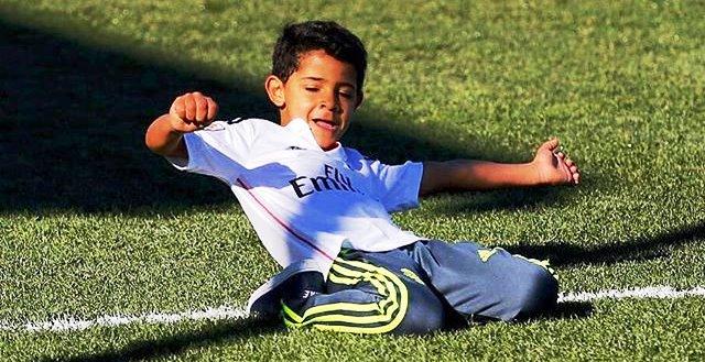 Cristiano Ronaldo Jr (@cristiano/twitter)