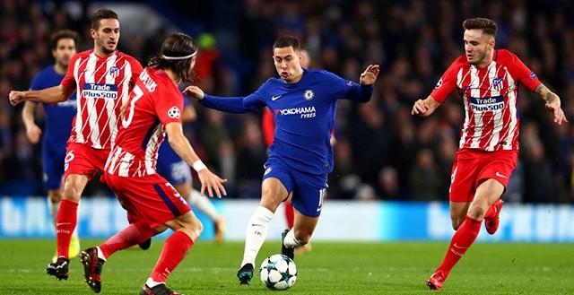 LOLOS - Cukup dengan hasil imbang atas Atletico Madrid memastikan Chelsea lolos ke babak 16 besar Liga Champions (chelsea.com)