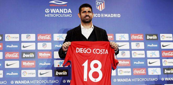 Diego Costa - Striker Atletico Madrid (marca.com)