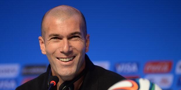 Zinedine Zidane - Pelatih Real Madrid