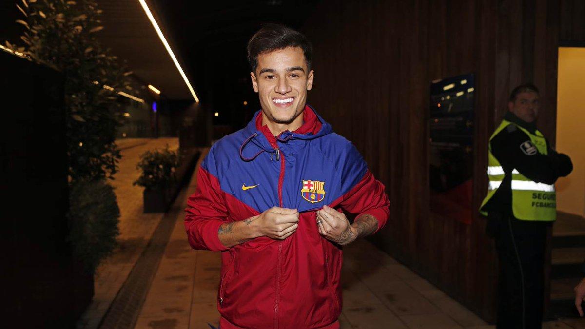 Philippe Coutinho - Pemain baru Barcelona (@fcbarcelona/twitter)