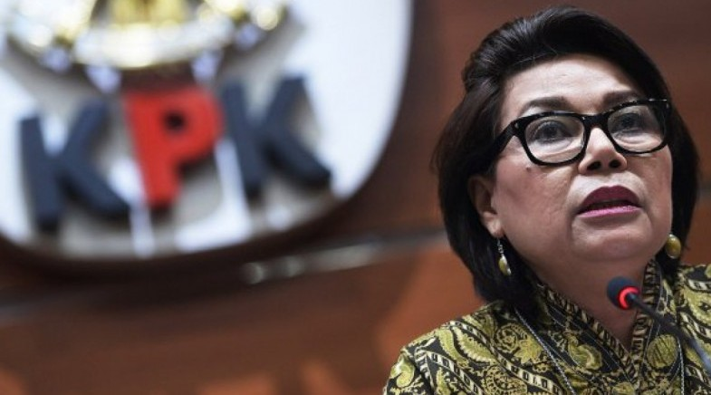 Komisioner KPK Basaria Pandjaitan, direktur krakatau steel