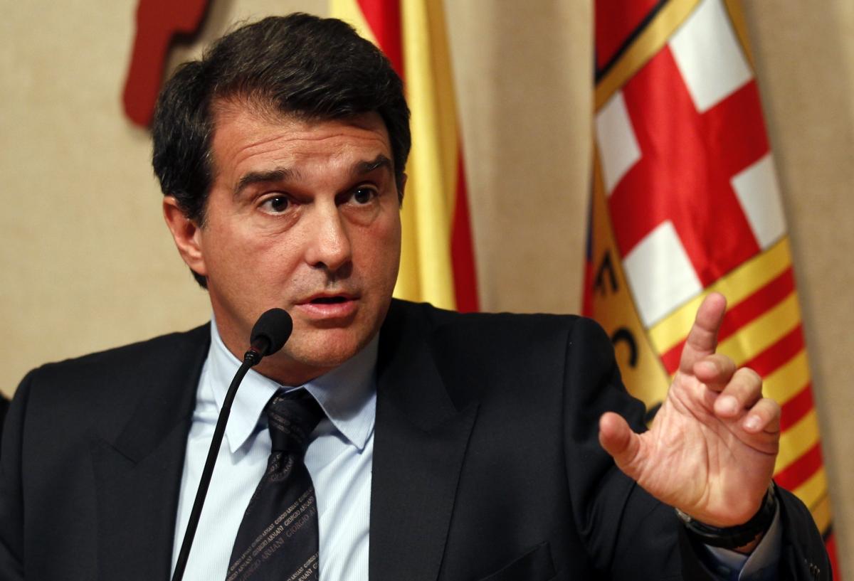 Joan Laporta, pemilihan presiden barcelona