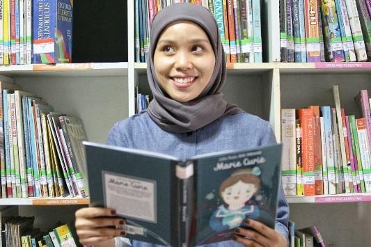 Puti Ceniza Sapphira. (FOTO : Humas Pemkot Bandung)