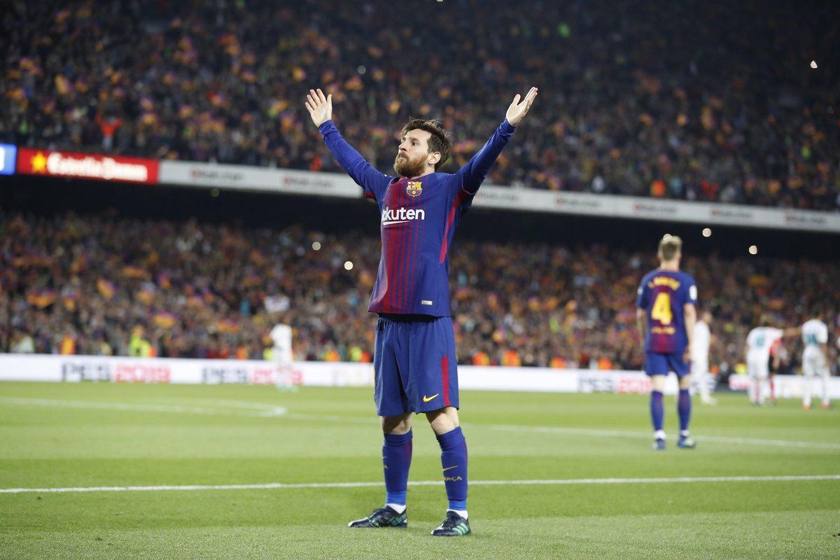 Lionel Messi - Bomber Barcelona (@barcelonafc/twitter)