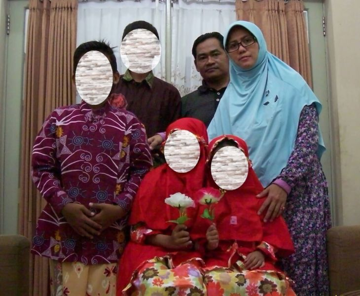 Keluarga pelaku bom Surabaya