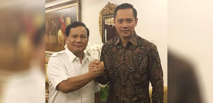Prabowo - AHY duet ideal