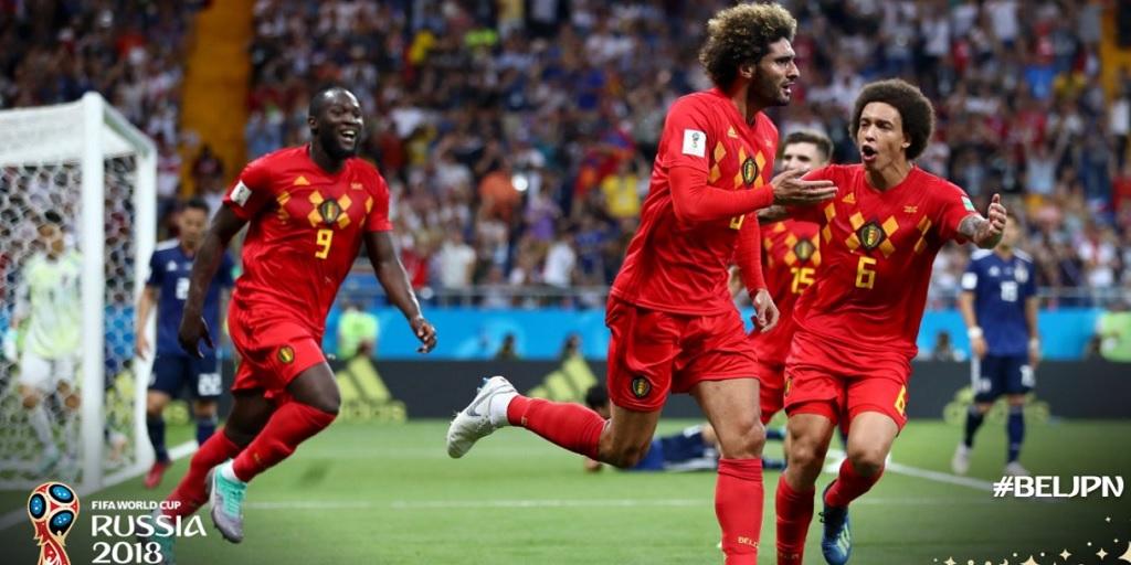 belgia, belgia vs jepang, hasil pertandingan, piala dunia 2018
