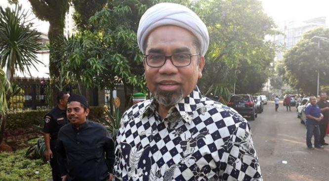 Tenaga Ahli Utama Kedeputian IV Bidang Komunikasi Politik dan Diseminasi Informasi Kantor Staf Presiden Ali Mochtar Ngabalin