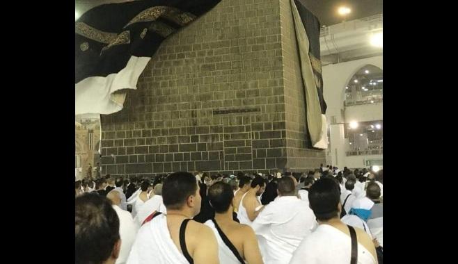 Angin besar di Mekkah/Ist.
