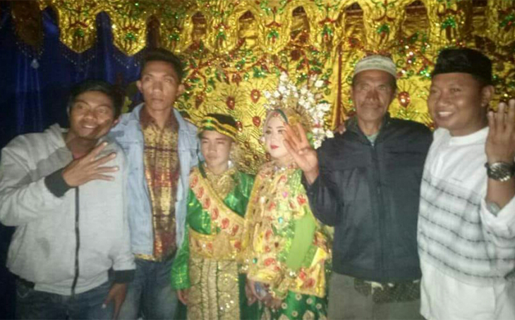 Pernikahan dini bocah baru lulus SD, Reski dan Sarmila