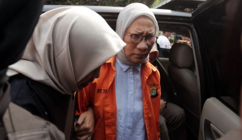 Ratna Sarumpaet menjalani pemeriksaan kesehatan di Bidokkes Polda Metro Jaya, Rabu (10/10/2018). Foto JPG