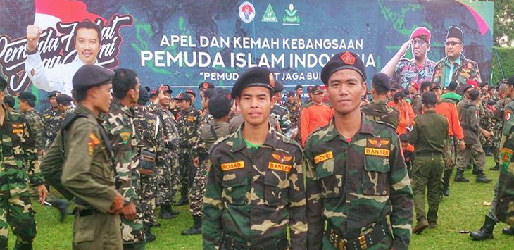 Apel dan Kemah Pemuda Islam Indonesia 2017. (Facebook/Alif Sofian)
