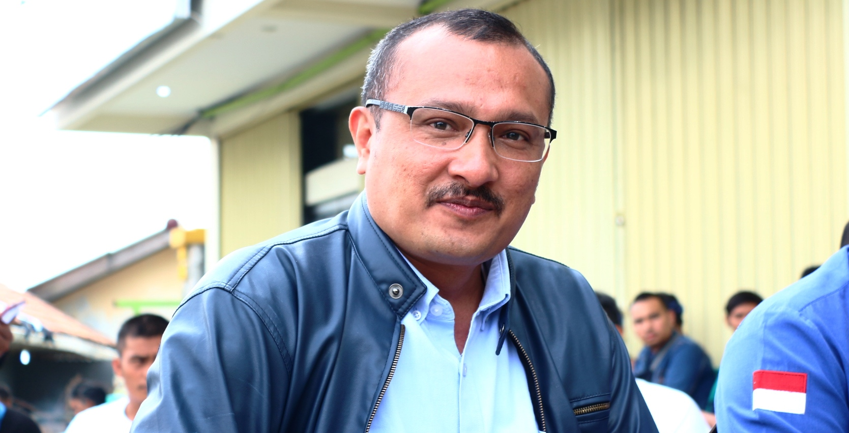 Kadiv Advokasi dan Bantuan Hukum DPP Partai Demokrat, Ferdinand Hutahaean. Foto Guruh PojokSatu.id