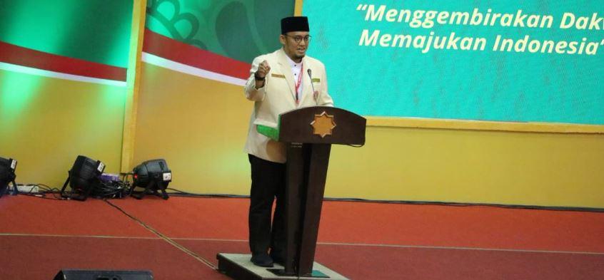 Dahnil Anzar Simanjuntak dalam pembukaan Muktamar Pemuda Muhammadiyah XVII di Yogyakarta