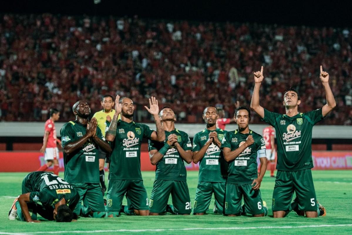Hingga pekan ke-31, Persebaya Surabaya mencatatkan diri sebagai tim tersubur mencetak gol dengan kemasan 58 gol (persebaya.id)