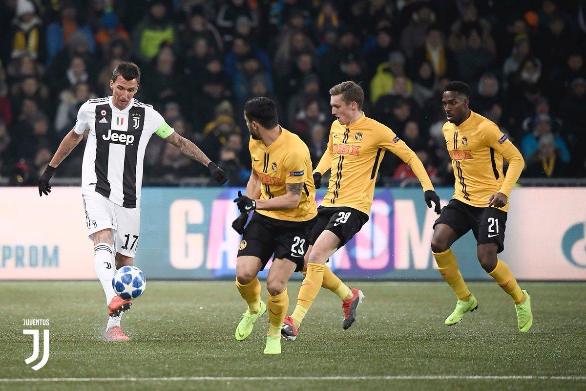 Young Boys sukses bungkam Juventus di laga pamungkas grup dengan skor tipis 2-1 (@juventus/twitter)