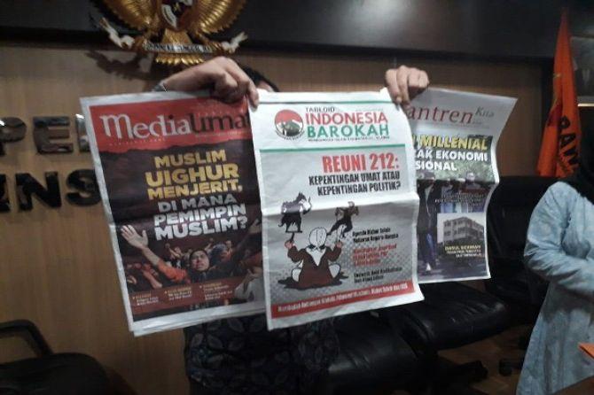 Bawaslu Jabar menemukan tabloid lain selain Tabloid Indonesia Barokah (jawapos.com)