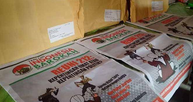 Temuan peredaran tabloid Indonesia Barokah di Sragen, Jawa Tengah