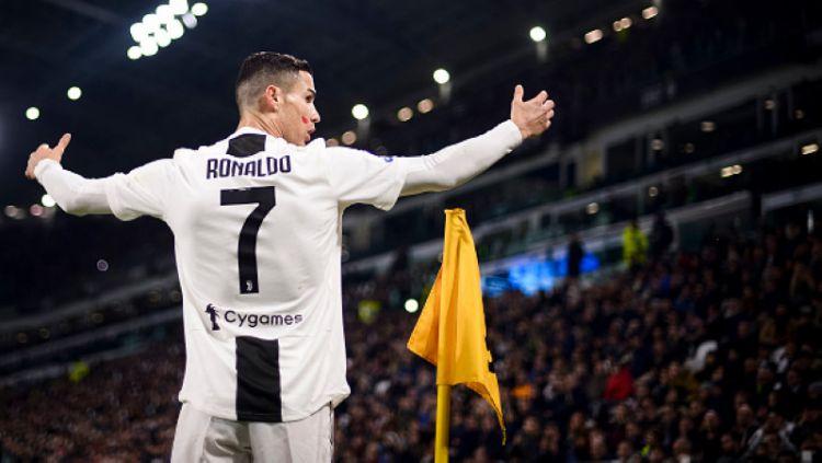 Cristiano Ronaldo gagal mengantarkan kemenangan untuk Juventus atas Parma meski sukses mencetak brace (net)