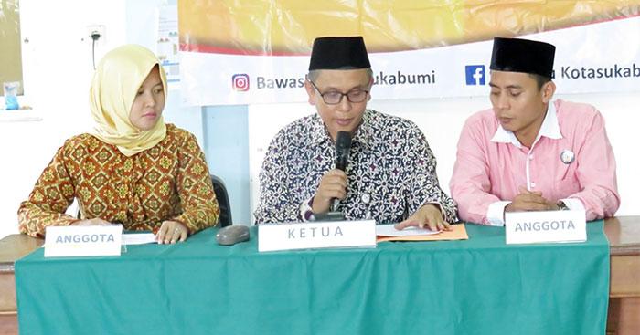 Bawaslu Kota Sukabumi merilis soal pelanggaran APK yang dilakukan Caleg DPR RI Icuk Sugiarto (radarsukabumi.com)