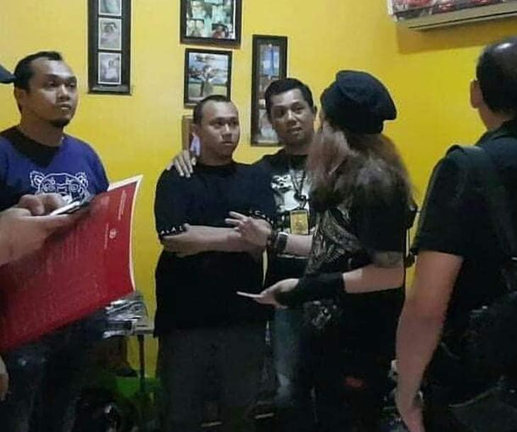 Hermawan Susanto ditangkap karena Hina Jokowi