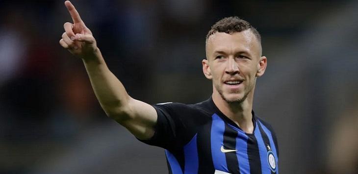 Winger Inter Milan, Ivan Perisic.