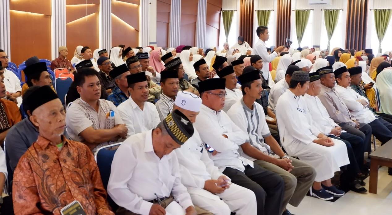 242 Calon Jemaah Haji di Lutra Ikut Bimbingan Manasik Haji