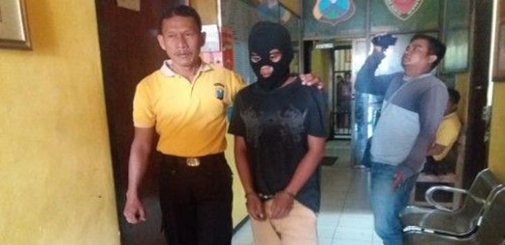 Pelaku hubungan sedarah ditangkap polisi