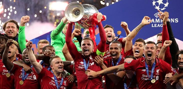 Liverpool juara Liga Champions musim 2018/19. ft/twitter @championsleague