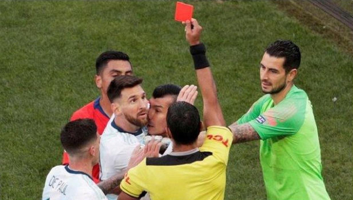 argentina vs chile, lionel messi