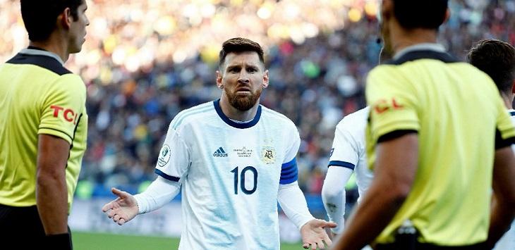 Kapten Timnas Argentina, Lionel Messi, kritik messi