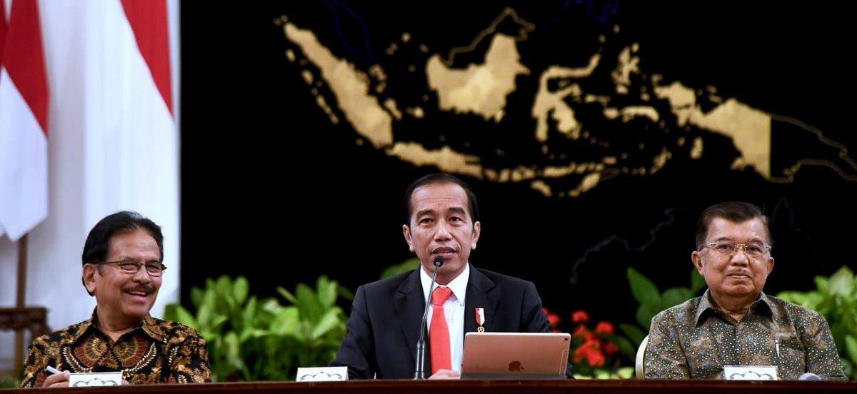 Presiden Jokowi umumkan Ibukota pindah dari DKI Jakarta ke Kalimantan Timur