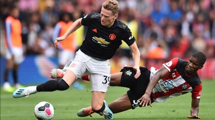 Laga Southampton vs Manchester United di St. Mary's Stadium, Sabtu (31/8/2019) malam WIB berakhir imbang 1-1.