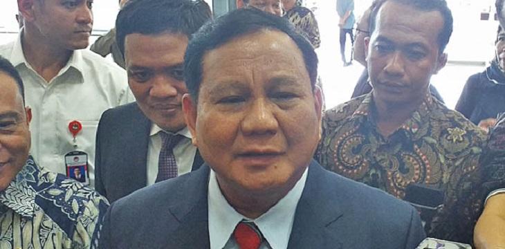 Menhan Prabowo Rapat Perdana dengan DPR