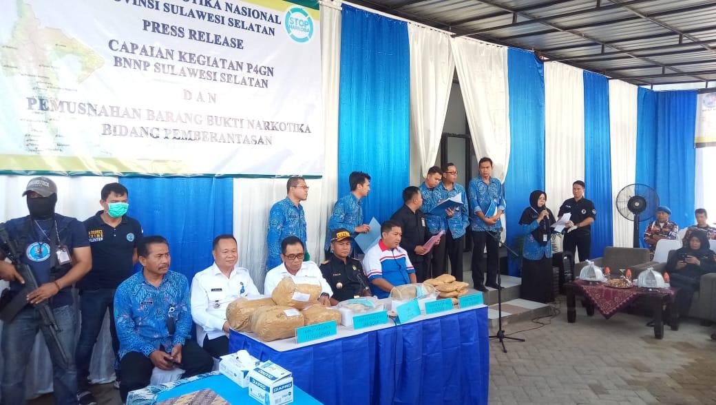 Narkotika Jenis Baru Hampir Beredar di Sulawesi Selatan