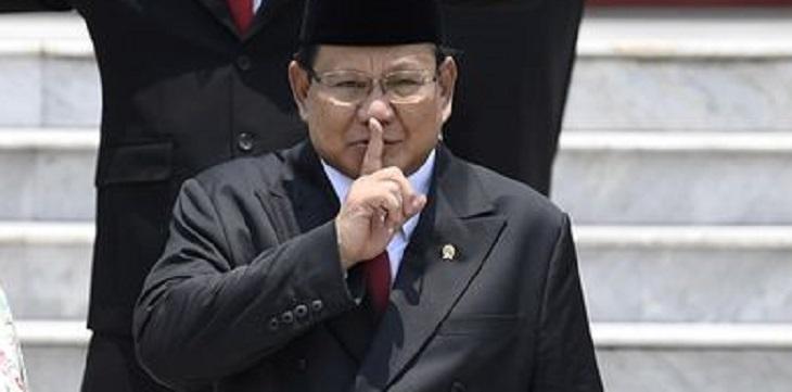 Menhan Prabowo Subinto