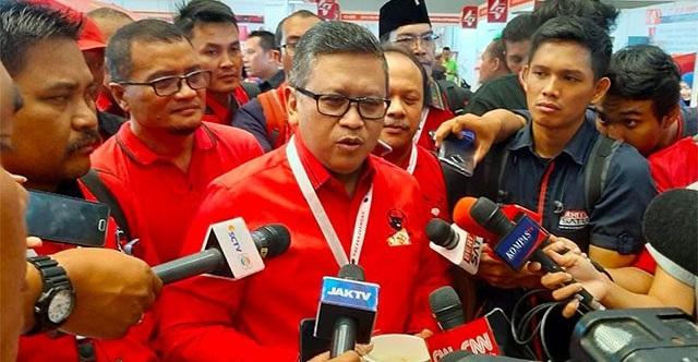 Sekjen PDIP Hasto Kristiyanto. Foto Jawa Pos