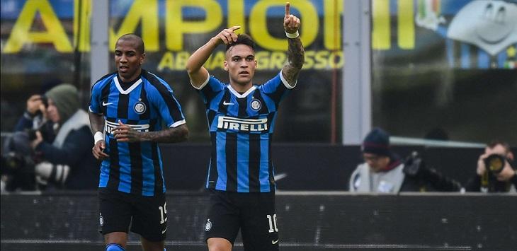 Inter Milan, salah satu tim Serie A yang paling banyak pertandingannya ditunda.