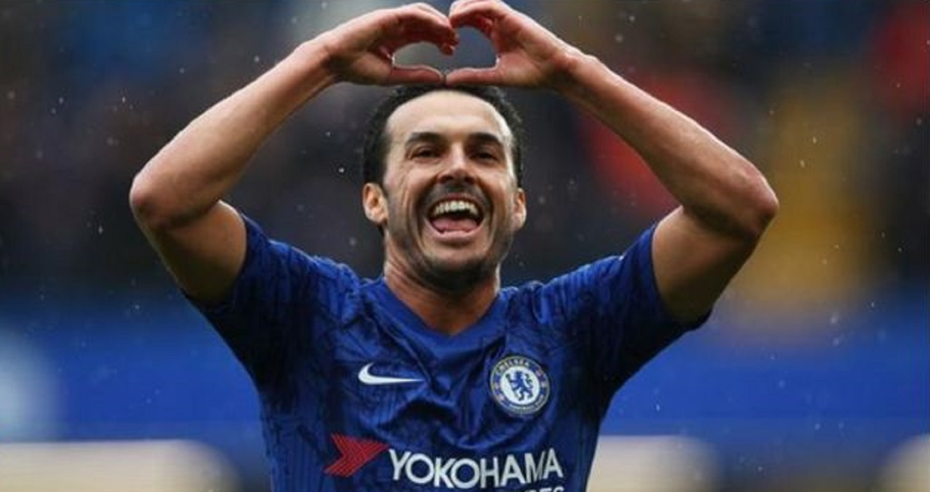 Pedro, pemain Chelsea. (BBC)