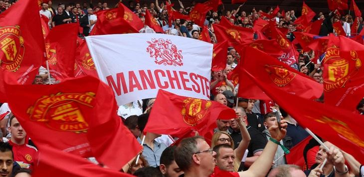 Suporter Manchester United, liga europa, lask vs mu