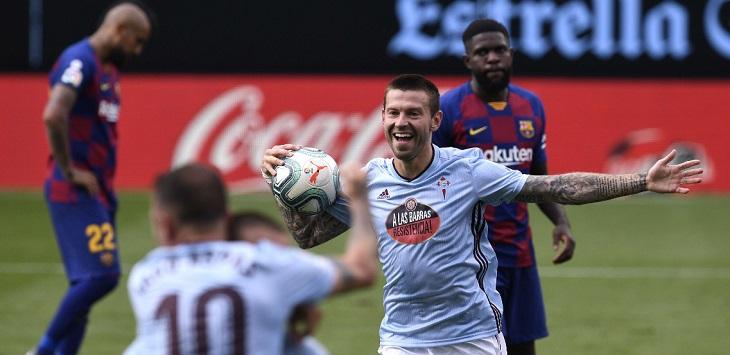 Barcelona ditahan imbang Celta Vigo, 2-2 di Estadio de Balaídos (Vigo), Sabtu (27/6/2020) malam WIB, pada laga pekan ke-32 La Liga 2019/20.