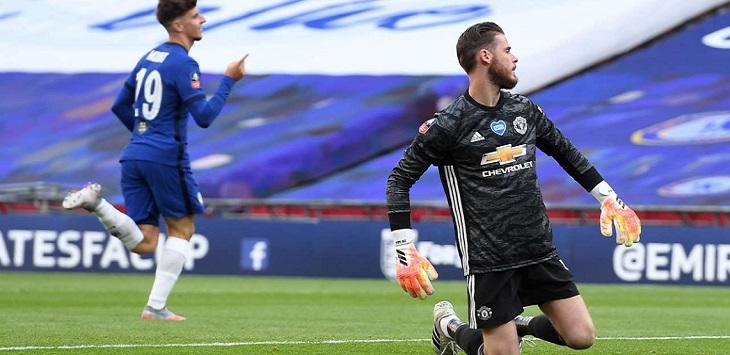 Chelsea menang 3-1 atas Manchester United dalam laga semifinal Piala FA 2019/20 di Stadion Wembley, Senin (20/7/2020) dini hari WIB.