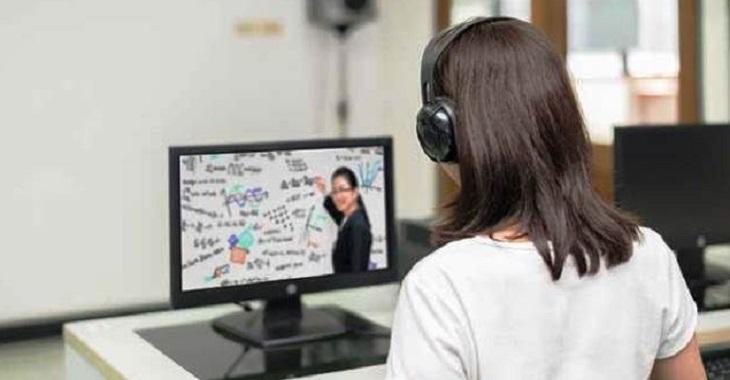 lustrasi pembelajaran online (NET/PURDUE)