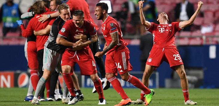 Bayern Munich, juara Liga Champions 2019/20.