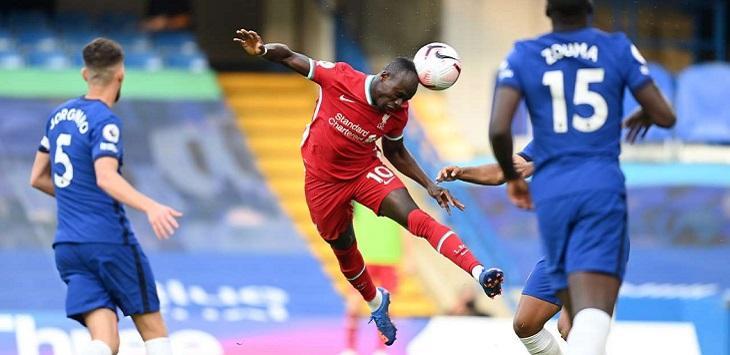 Sadio Mane menjadi bintang kemenangan 2-0 Liverpool atas Chelsea di Stamford Bridge, Minggu (20/9/2020) malam WIB.