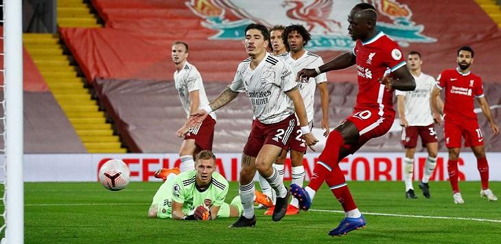 Liverpool menang 3-1 atas Arsenal pada laga pekan ke-3 Premier League 2020/21 di STadion Anfield, Selasa (29/9/2020) dini hari WIB.
