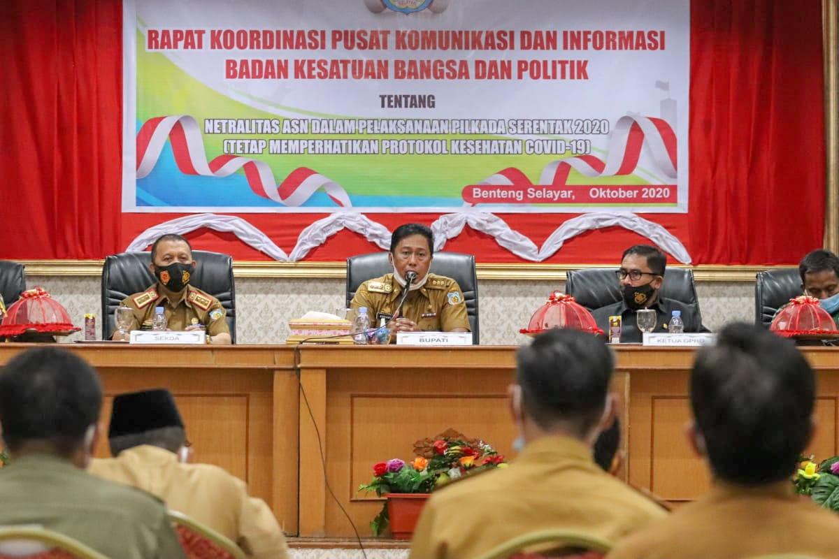 Pjs Bupati Selayar Tegaskan ASN Tak Boleh Terlibat Kampanye Politik
