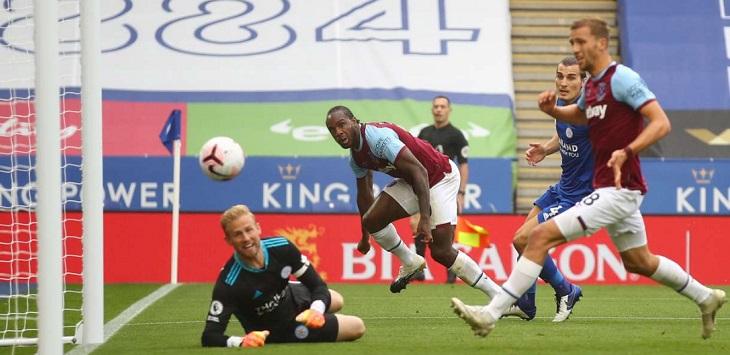 West Ham United menang 3-0 di kandang Leicester City, King Power Stadium, Minggu (4/10/2020) malam WIB.