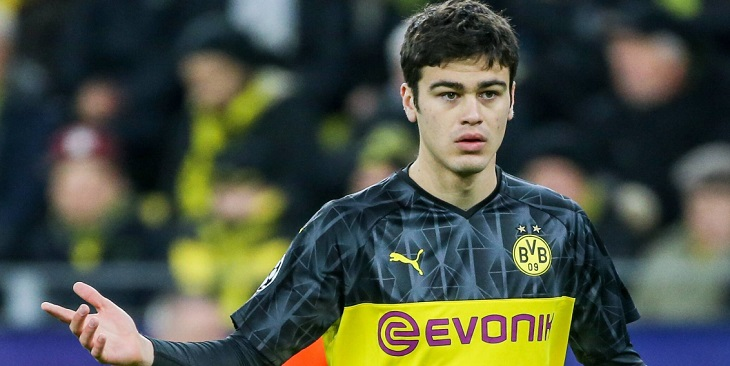 Wonderkid Borussia Dortmund, Giovanni Reyna.